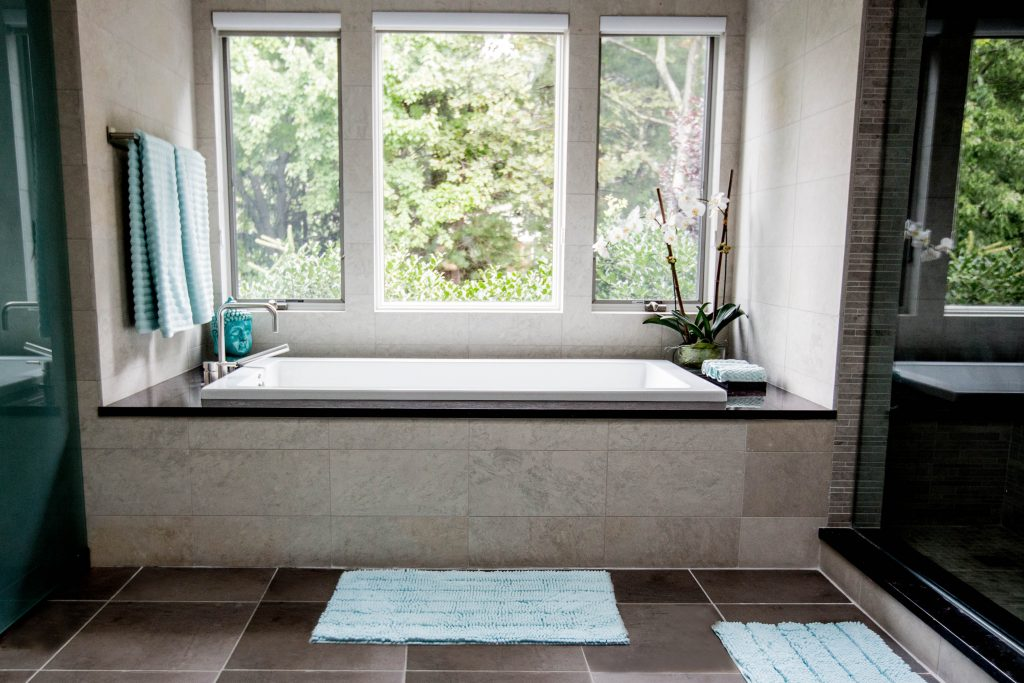 From Basic Bathroom To Luxurious Day Spa Home