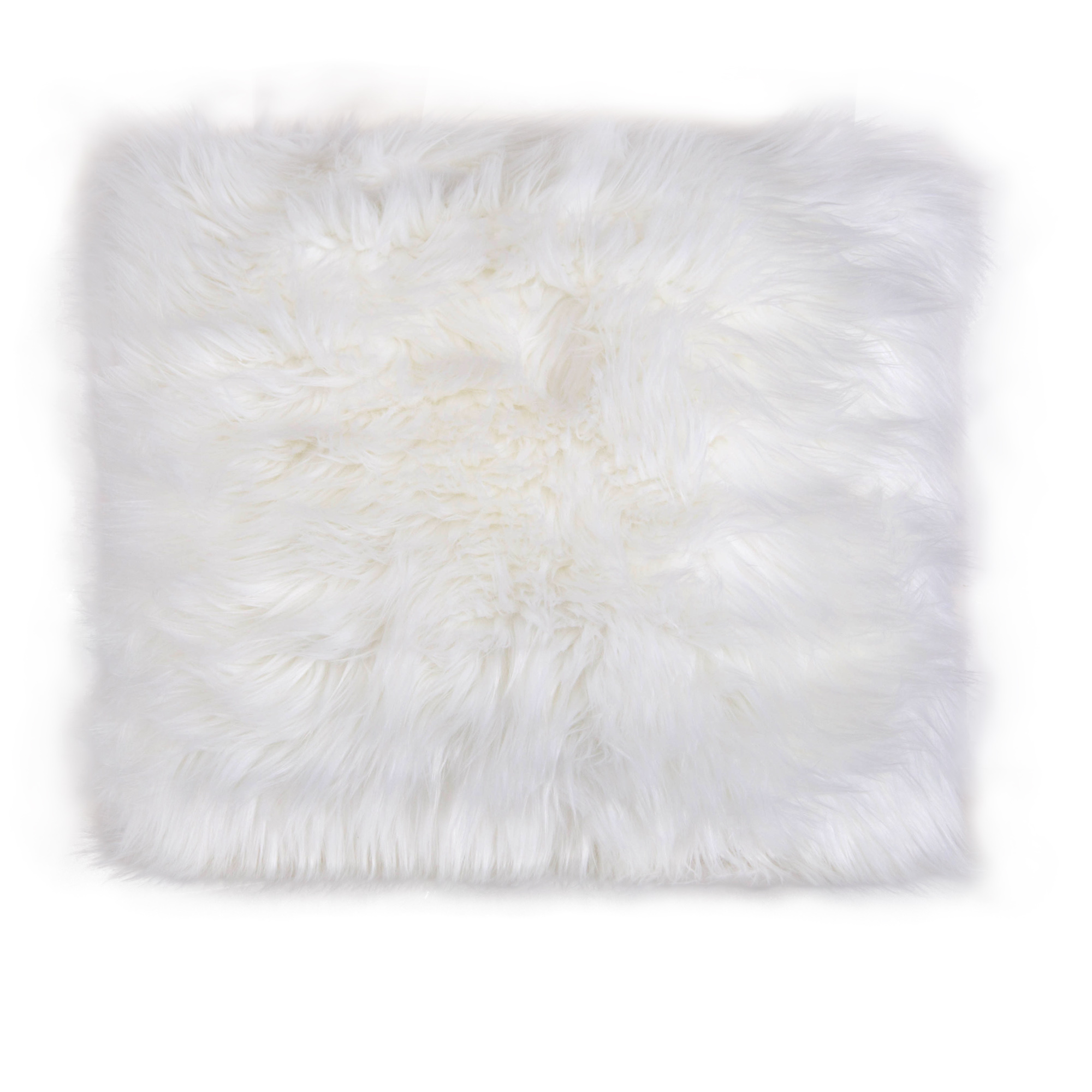 at a luxury gray of fur an pin faux pillow your to irresistibly our lends space look